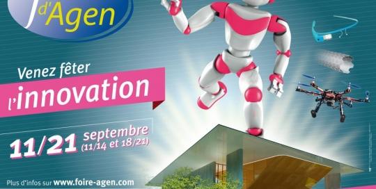 animation foire Agen 2014