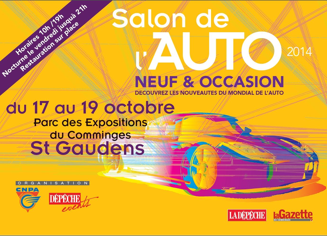 animation salon auto st-gaudens